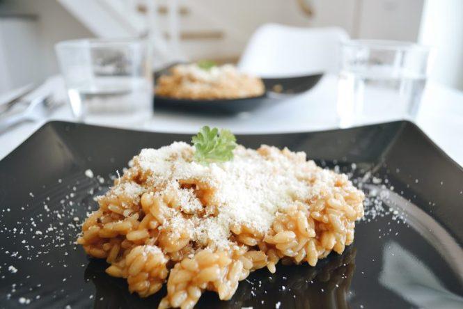 risotto délicieux recette