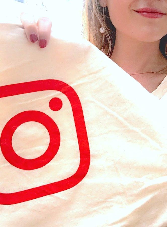 totebag instagram logo