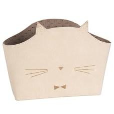 KITTY Porte-revues en tissu écru En stock 39,99 €