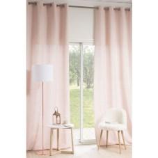 Phoebe Rideau à œillets rose 140 x 300 cm Avec sa nuance rose poudré, ce rideau à 69,99 €