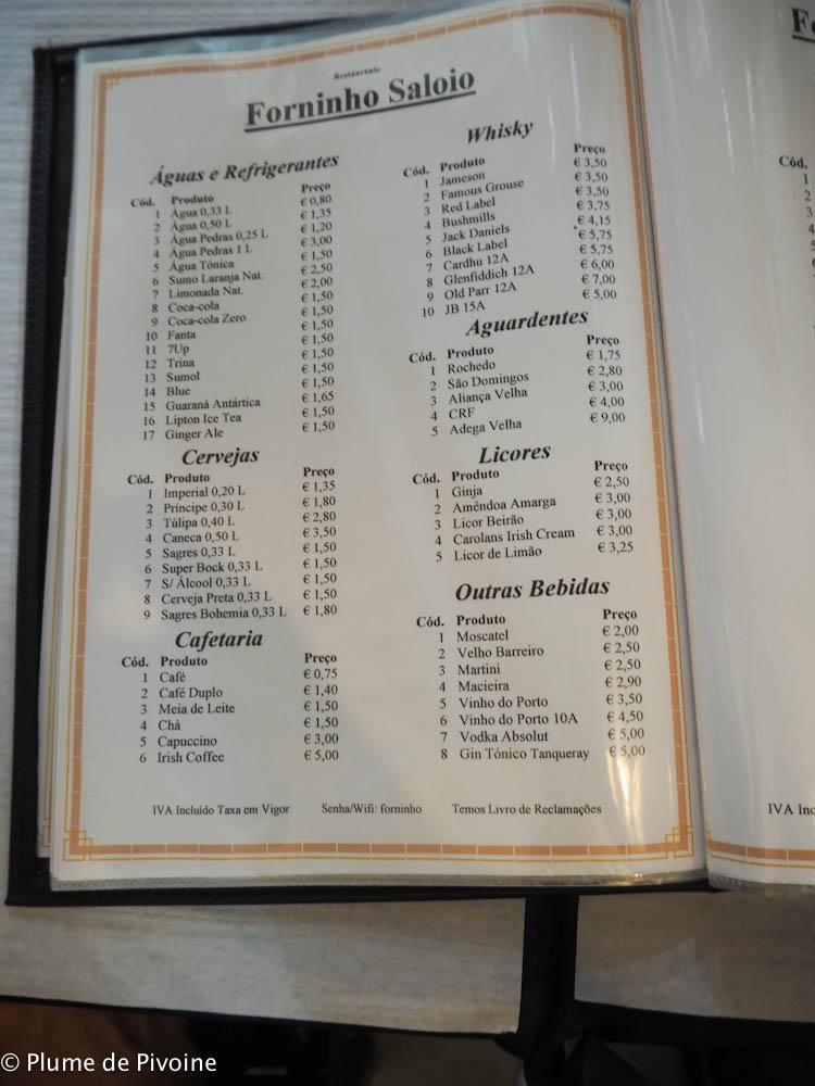 restaurants lisbonne