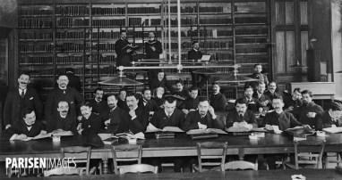 La Sorbonne : Faculté des Lettres, bibliothèque Albert-Dumont