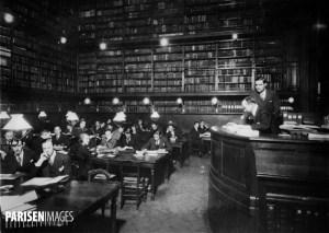 Bibliothèque de l'école libre des Sciences Politiques.