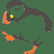 logo La plume du macareux