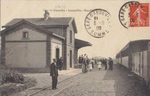Gare de Canchy. (1)