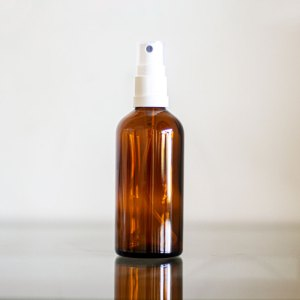 Pote Spray de Vidro Âmbar – 100ml
