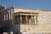 Le vieux temple d'Athéna
