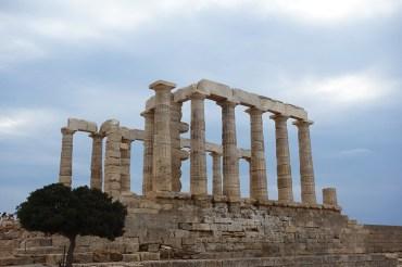 Le temple de Poséïdon