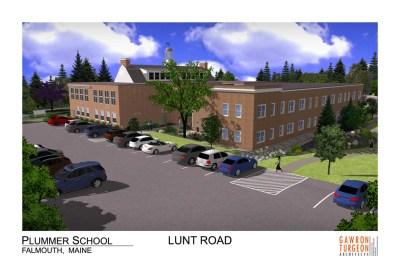 Plummer Rendering from Lunt Rd, May 2016