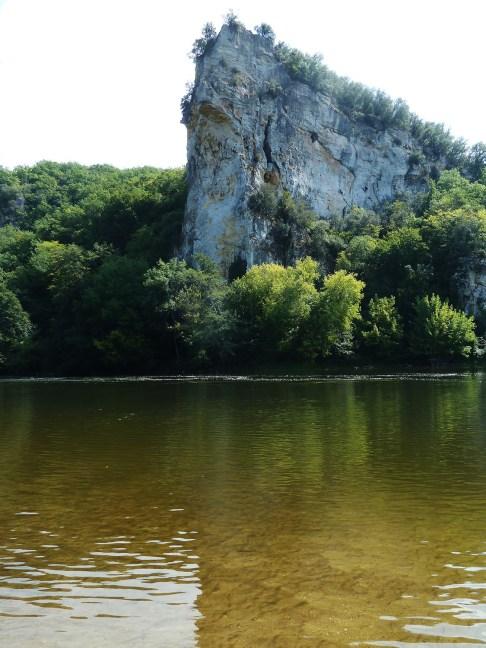 La Dordogne entre Vitrac et Montford