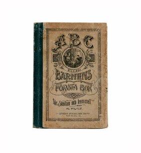 1860 ABC Swedish Book