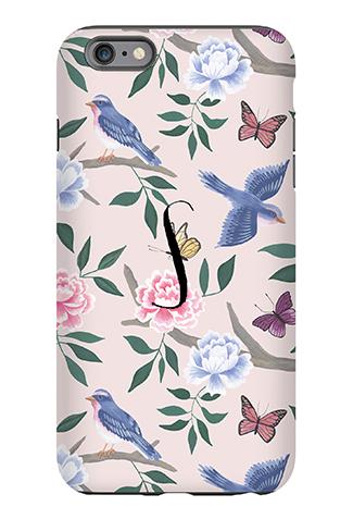 Blush Chinoiserie Phone Case