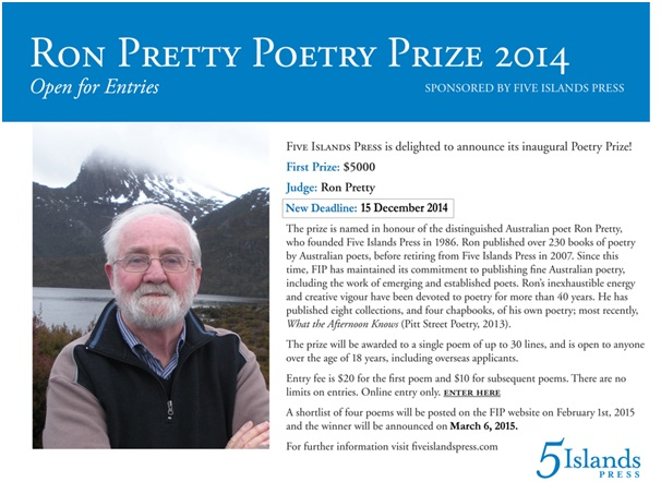 Ron Pretty Poetry Prize