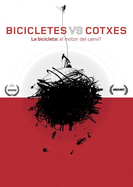 'Bicicletes vs. cotxes'_cartell