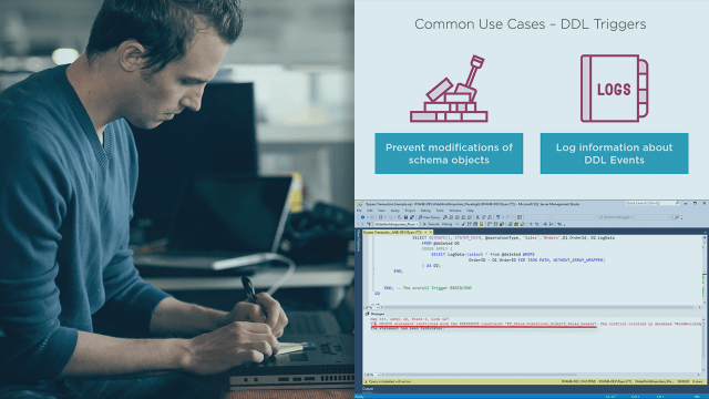 Programming SQL Server Database Triggers and Functions  Pluralsight