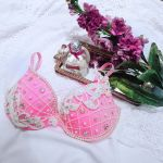 Pink and Pearls Rave Bra