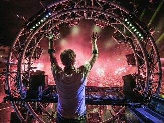 armin van buuren uses myo armbands