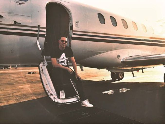 tiesto private jet
