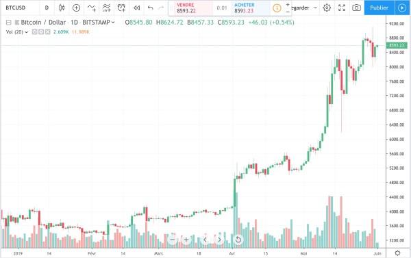 rallye bitcoin 2019