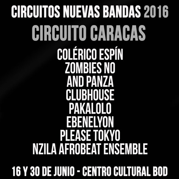 Circuito Caracas 2016 Cusica Plus