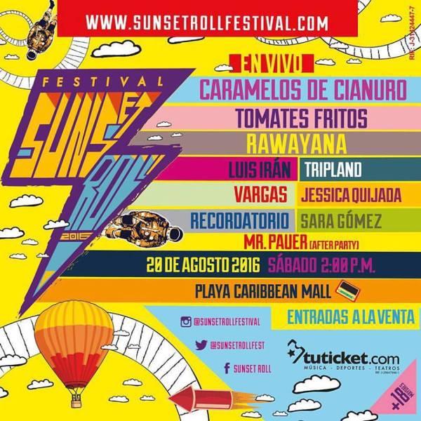 Sunset Roll 2016 Cartel Cusica Plus