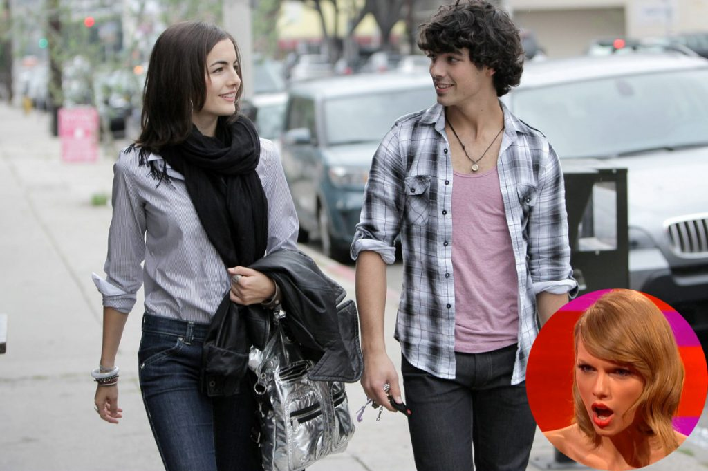 Joe Jonas Camilla Belle Taylor Swift Cusica Plus