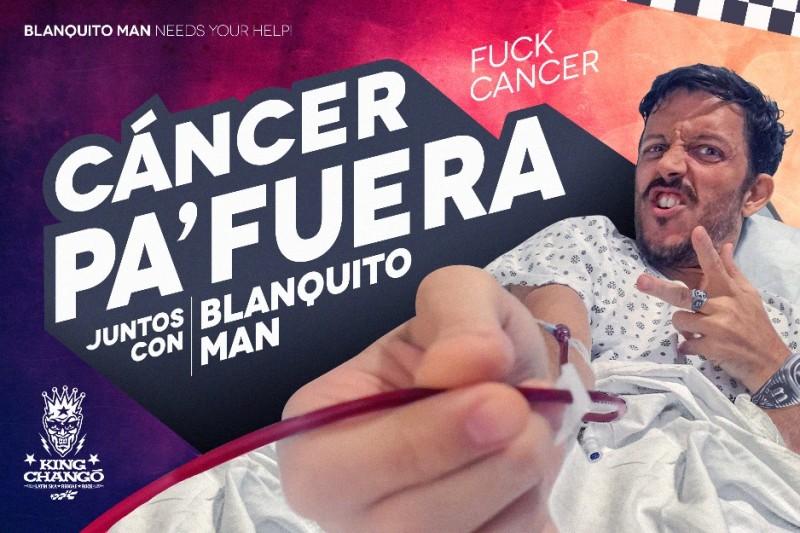 Blanquito Man. Crowdfunding. Cúsica Plus