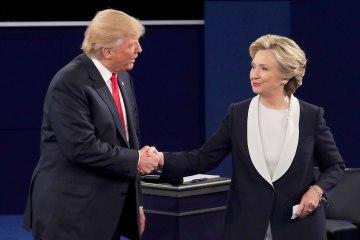 Donald Trump. Hillary Clinton. Debate Presidencial. Artistas Reacción. Cúsica Plus