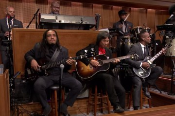 The Roots tocó el tema de Mario Bros con su creador Shigeru Miyamoto en The Tonight Show. Cusica Plus