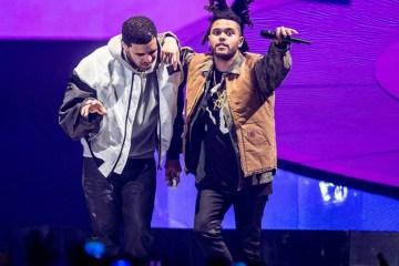 Drake aparece en concierto de The Weeknd en Dinamarca. Cusica plus