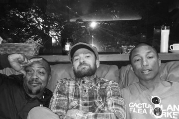¿Justin Timberlake, Pharrell y Timbaland hacen música juntos?. Cusica plus