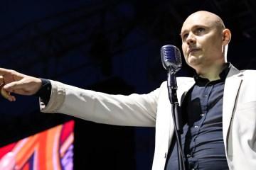 Billy Corgan nos invita a su extraño mundo con 'Ogilala'. Cusica Plus.