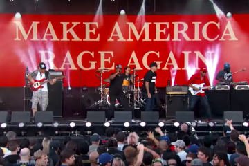 Prophets Of Rage rinde tributo a Collin Kaepernick en su nuevo video. Cusica Plus.