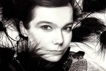 "Björk presenta un remix de arpa de ""Blissing Me"". Cusica Plus."