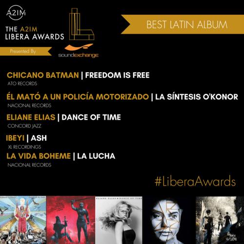 libera awards