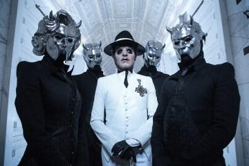 Ghost le reza al demonio en su nuevo disco. Cusica Plus.