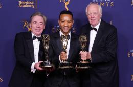 John Legend forma parte de artistas en lograr el Egot con sunuevo Emmy de artes creativas. Cusica Plus.