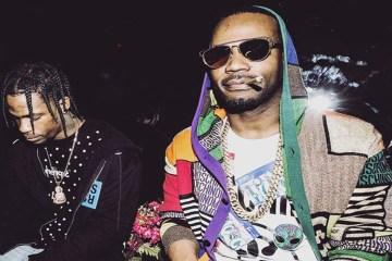 """Travis Scott y Juicy J comparten su nuevo tema juntos """"Neighbor"""". Cusica Plus."""