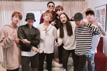 "BTS colaboró con Steve Aoki en el nuevo tema ""Waste It On Me"". Cusica Plus."