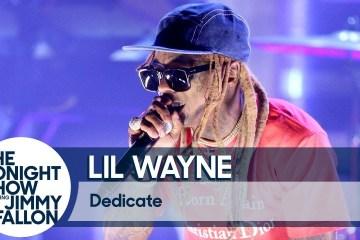"""Lil Wayne se presentó en el show de Jimmy Fallon, para cantar """"Dedicate"""" de 'Tha Carter V'. Cusica Plus."""