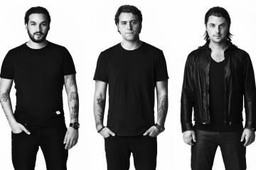 Axwell, Steve Angello y Sebastian Ingrosso. Cusica Plus.