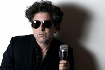 Andrés Calamaro muestra su nuevo disco 'Cargar La Suerte'. Cusica Plus.