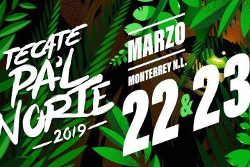 Conoce el cartel del festival mexicano 'Tecate Pa'l Norte'. Cusica Plus.