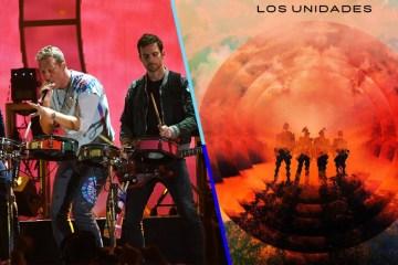 """El proyecto alternativo de Coldplay, Los Unidades, debutaron junto a Pharrell Williams con el tema """"E-Lo"""". Cusica Plus."""