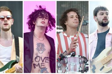 "Matty Healy de The 1975 saca su lado más sentimental interpretando ""Be My Mistake"". Cusica Plus."