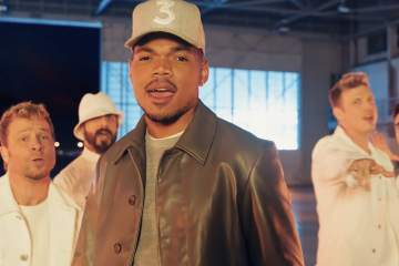 "Chance The Rapper versionó ""I Want It That Way"" de Backstreet Boys en el comercial de Doritos para el Super Bowl. Cusica Plus."