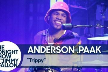 Anderson .Paak se presentó en el show de Jimmy Fallon, y afirmó que publicará temas con Dr. Dre. Cusica Plus.