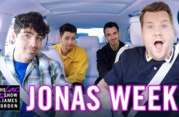 Los Jonas Brothers se presentarán en el Carpool Karaoke de James Corden el lunes. Cusica Plus.