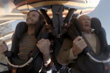 """Louis Tomlinson cumplió los sueños de un señor de 86 años, en el videoclip de """"Two of Us"""". Cusica Plus."""