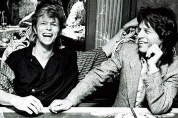 """El extraño universo del Pop: """"Angie"""" y la aventura de Bowie y Jagger. Cusica Plus."""